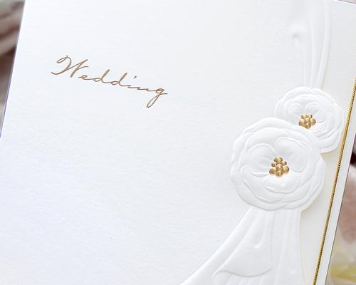 結婚式招待状(手作りキット) トレーンC サポート画像1 (拡大)