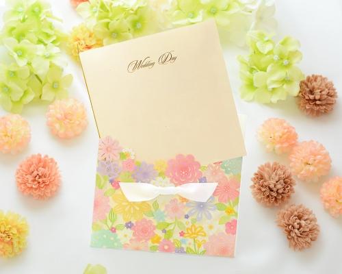結婚式招待状(手作りキット) コローラ サポート画像1 (拡大)