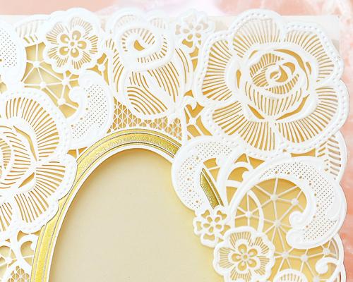結婚式招待状(手作りキット) ピュール サポート画像1 (拡大)