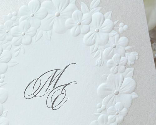 結婚式招待状(手作りキット) フェリチタGY(グレー)【Name on Card タイプ】 サポート画像1 (拡大)