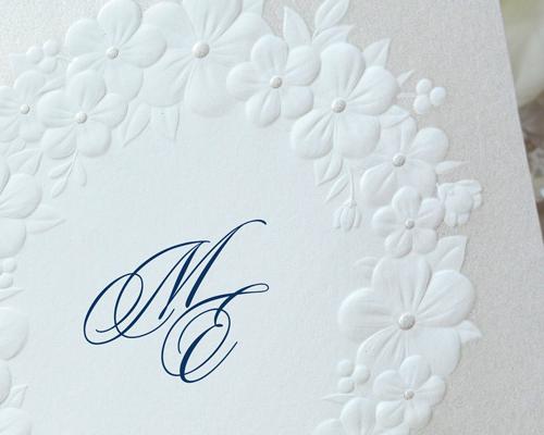 結婚式招待状(手作りキット) フェリチタBL(ブルー)【Name on Card タイプ】 サポート画像1 (拡大)