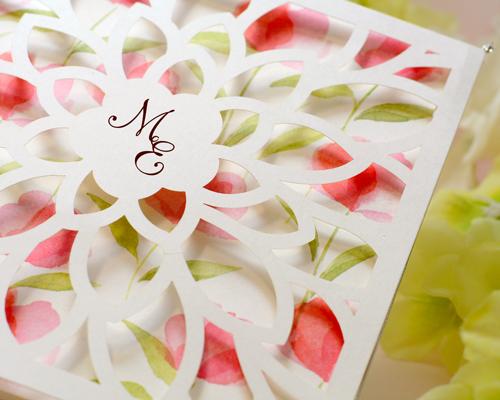 結婚式招待状(手作りキット) チューリップA【Name on Card タイプ】 サポート画像1 (拡大)