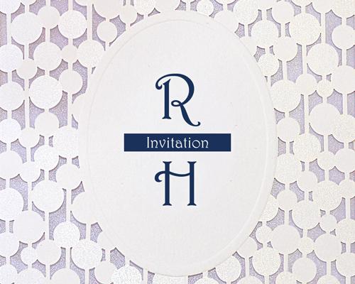 結婚式招待状(手作りキット) コートリーBL(ブルー)【Name on Card タイプ】 サポート画像1 (拡大)