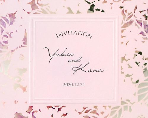 結婚式招待状(手作りキット) ライラック【Name on Card タイプ】 サポート画像1 (拡大)