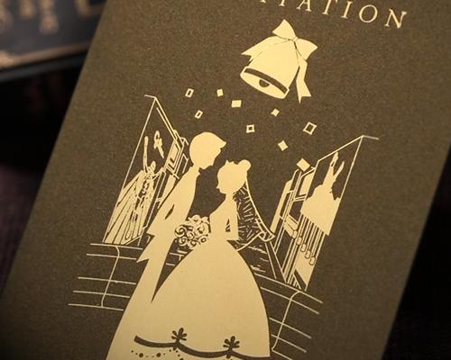 結婚式招待状(手作りキット) ハーモニー(大阪道頓堀)【Name on Card タイプ】 サポート画像1 (拡大)
