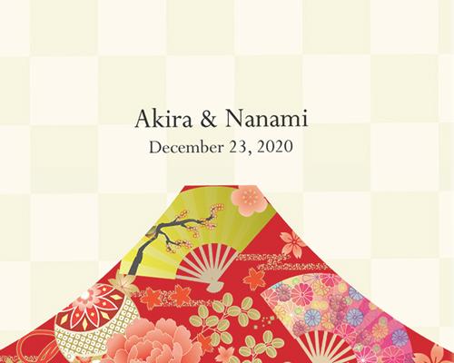席次表 Akane(アカネ)A【Name on Card タイプ】 サポート画像1 (拡大)