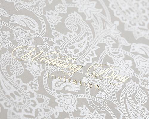 結婚式招待状(手作りキット) オリエンタルSV(シルバー) サポート画像2 (拡大)