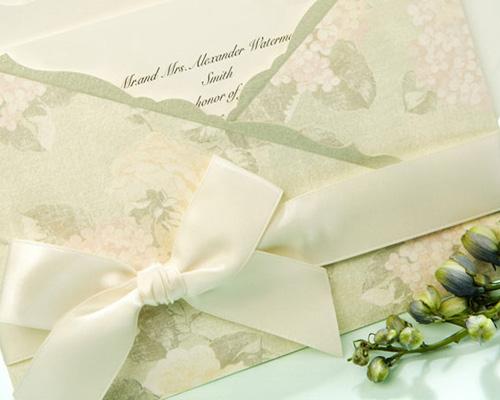 結婚式招待状(手作りキット) ジャパネスクGR(グリーン) サポート画像2 (拡大)