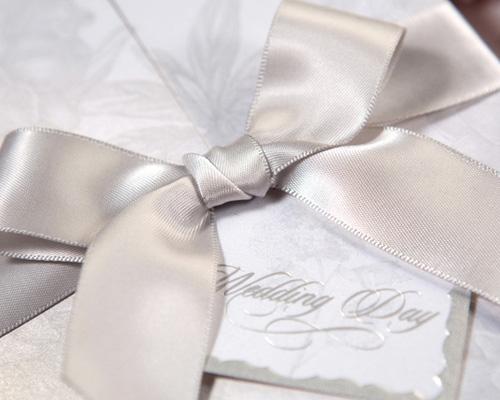 結婚式招待状(手作りキット) ギフトGY(グレー) サポート画像2 (拡大)