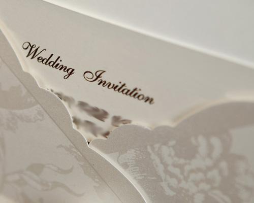 結婚式招待状(手作りキット) ジャパネスクW(ホワイト) サポート画像2 (拡大)