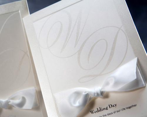 結婚式招待状(手作りキット) ミュゲA サポート画像2 (拡大)
