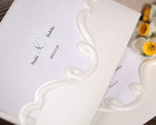 結婚式招待状(手作りキット) エレガンスB サポート画像2 (拡大)