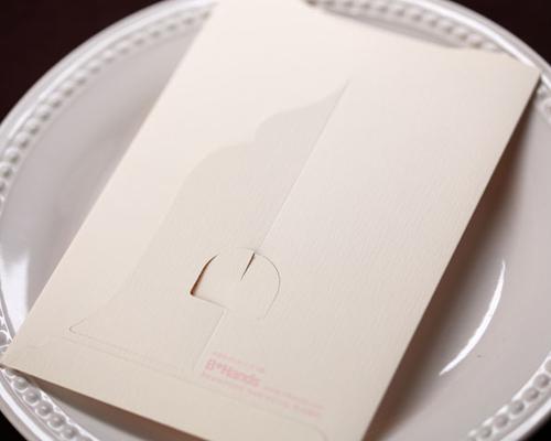 結婚式招待状(手作りキット) メモリーズP(ピンク) サポート画像2 (拡大)
