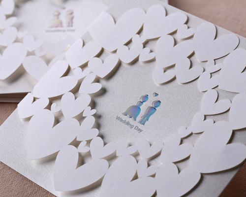 結婚式招待状(手作りキット) ベリーベリーハッピー サポート画像2 (拡大)