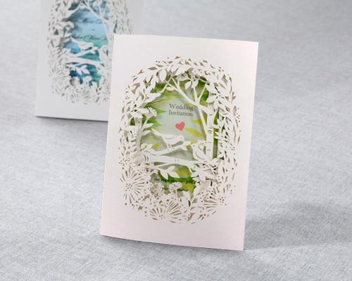 結婚式招待状(手作りキット) フォリアA サポート画像2 (拡大)
