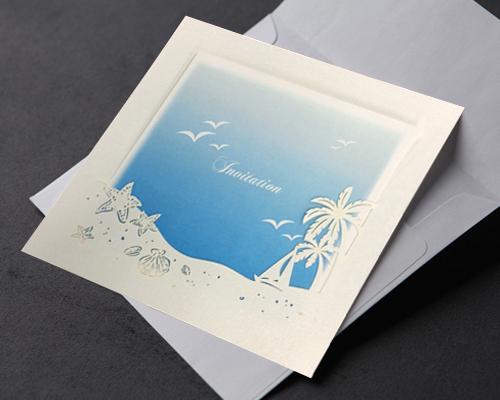 結婚式招待状(手作りキット) プラージュA サポート画像2 (拡大)