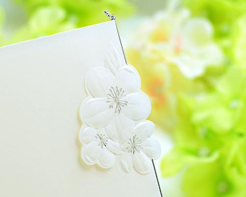 結婚式招待状(手作りキット) ディアレストV サポート画像2 (拡大)