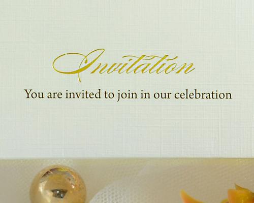 結婚式招待状(手作りキット) マイスイートA サポート画像2 (拡大)
