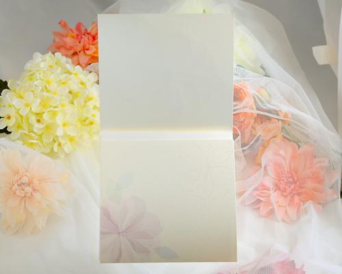 結婚式招待状(手作りキット) ラディアントP サポート画像2 (拡大)
