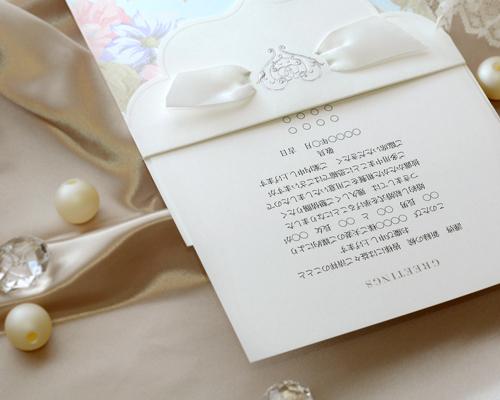 結婚式招待状(手作りキット) ブーケCL(クラシック) サポート画像2 (拡大)