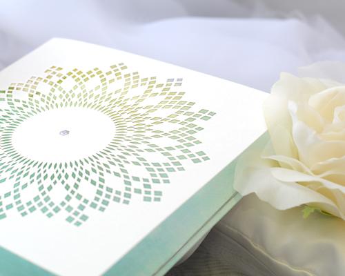 結婚式招待状(手作りキット) クリスタルA サポート画像2 (拡大)