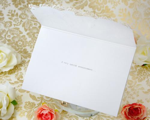 結婚式招待状(手作りキット) トレーンB サポート画像2 (拡大)