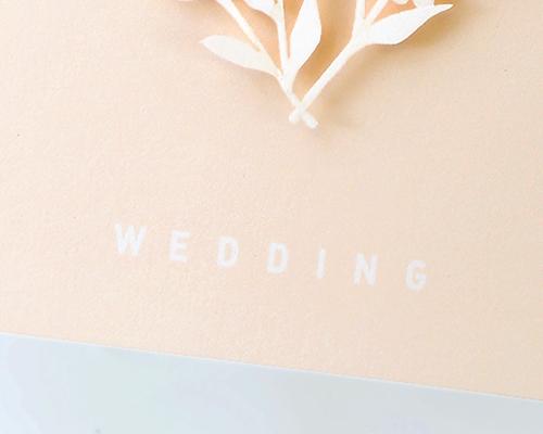 結婚式招待状(手作りキット) ボヌールB サポート画像2 (拡大)
