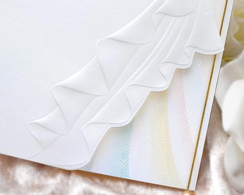 結婚式招待状(手作りキット) トレーンC サポート画像2 (拡大)