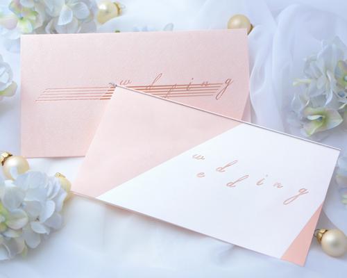 結婚式招待状(手作りキット) ノワールA サポート画像2 (拡大)