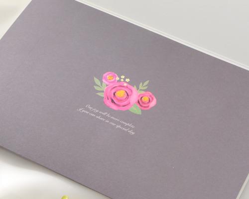 結婚式招待状(手作りキット) ブロッサムP サポート画像2 (拡大)