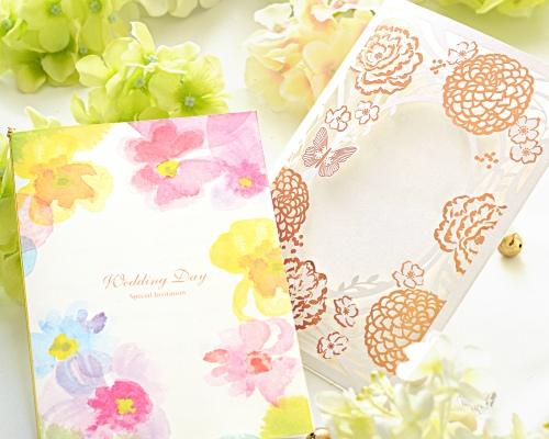 結婚式招待状(手作りキット) フラワリー サポート画像2 (拡大)