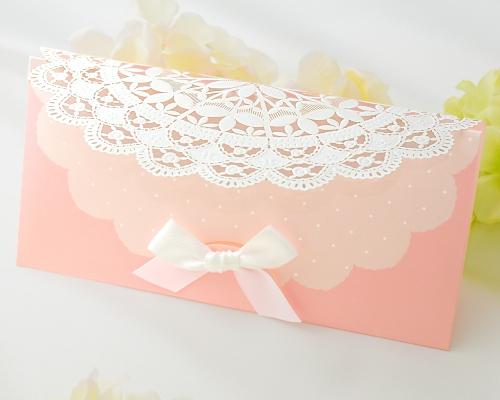 結婚式招待状(手作りキット) セントポーリアP(ピンク) サポート画像2 (拡大)