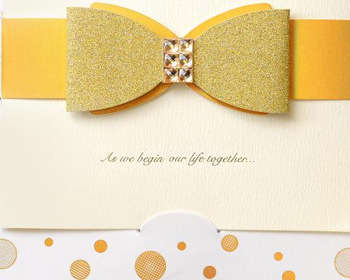 結婚式招待状(手作りキット) ポルカ サポート画像2 (拡大)