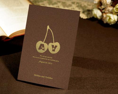 結婚式招待状(手作りキット) メリリー【Name on Card タイプ】 サポート画像2 (拡大)
