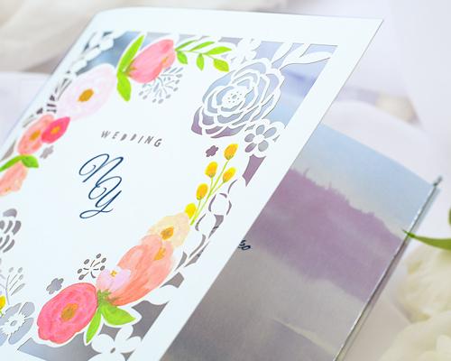 結婚式招待状(手作りキット) コクリコA【Name on Card タイプ】 サポート画像2 (拡大)