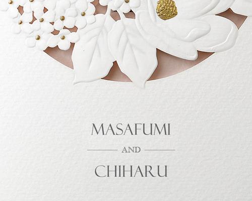 結婚式招待状(手作りキット) パルタージュA【Name on Card タイプ】 サポート画像2 (拡大)