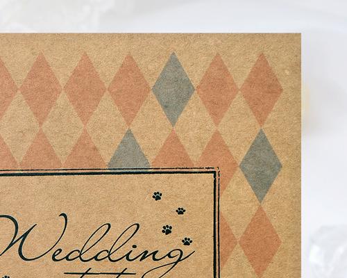 結婚式招待状(手作りキット) ラビリンスA【Name on Card タイプ】 サポート画像2 (拡大)