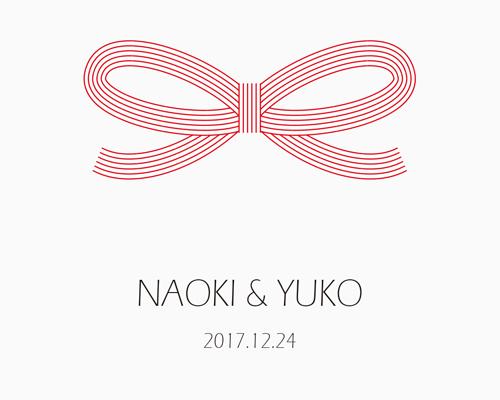 結婚式招待状(手作りキット) 寿【Name on Card タイプ】 サポート画像2 (拡大)