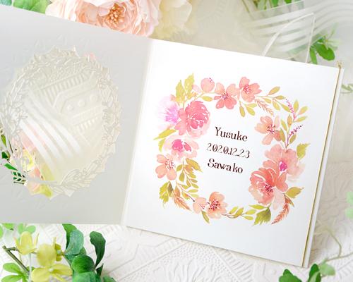 結婚式招待状(手作りキット) ディルA【Name on Card タイプ】 サポート画像2 (拡大)