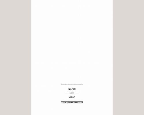 結婚式招待状(印刷込み) チェリッシュ サポート画像2 (拡大)