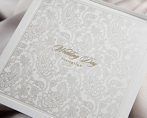 結婚式招待状(手作りキット) オリエンタルSV(シルバー) サポート画像3 (拡大)