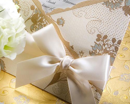 結婚式招待状(手作りキット) ジャパネスクBE(ベージュ) サポート画像3 (拡大)