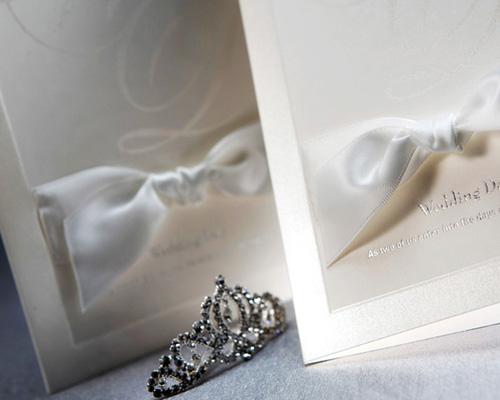 結婚式招待状(手作りキット) ミュゲA サポート画像3 (拡大)