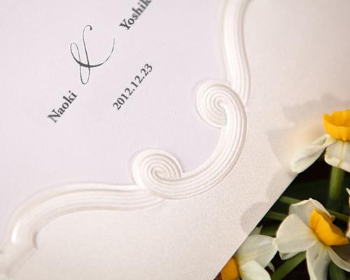 結婚式招待状(手作りキット) エレガンスB サポート画像3 (拡大)
