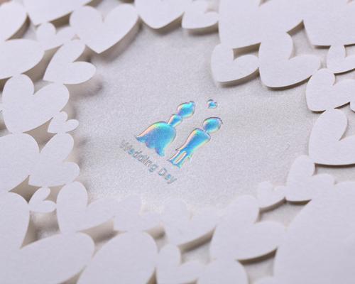 結婚式招待状(手作りキット) ベリーベリーハッピー サポート画像3 (拡大)