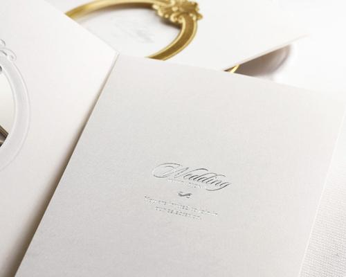 結婚式招待状(手作りキット) ミロワールG(ゴールド) サポート画像3 (拡大)
