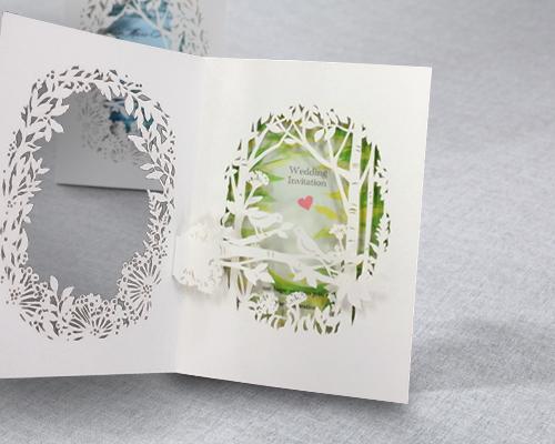 結婚式招待状(手作りキット) フォリアA サポート画像3 (拡大)