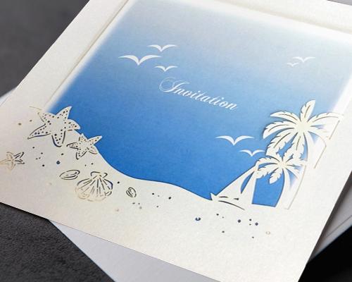 結婚式招待状(手作りキット) プラージュA サポート画像3 (拡大)