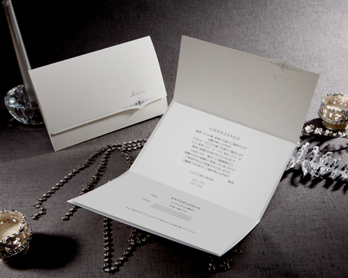 結婚式招待状(手作りキット) クラッシー サポート画像3 (拡大)