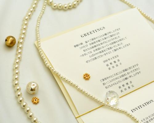 結婚式招待状(手作りキット) アーバンA サポート画像3 (拡大)